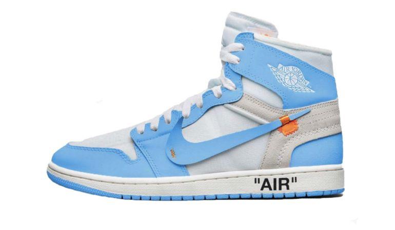 Off-White x Air Jordan 1 Powder Blue Release Date and Info