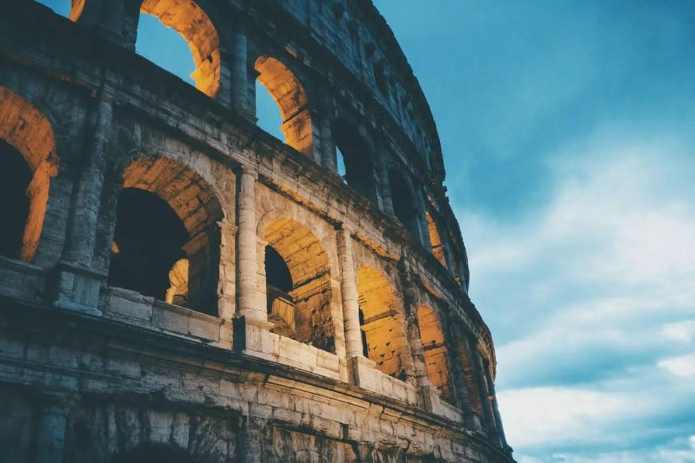 italy rome coliseum