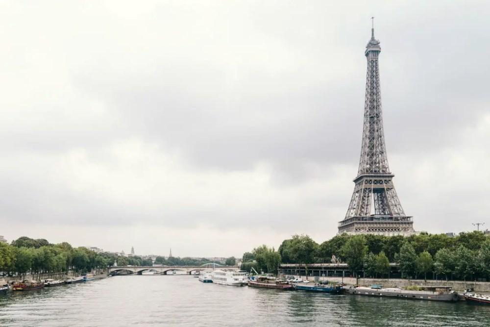 paris france eiffel tower view