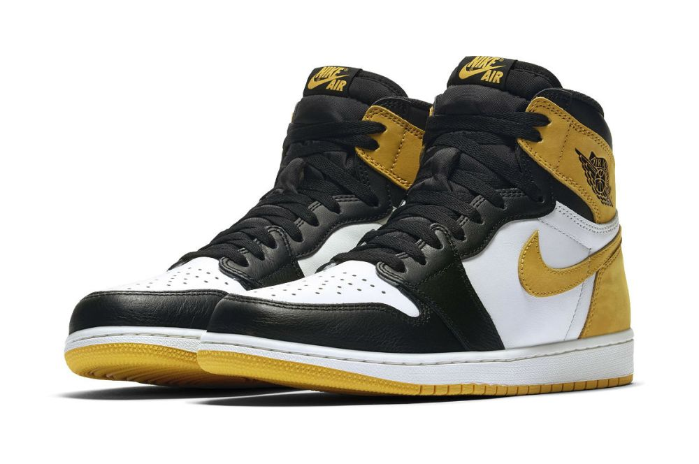 "Air Jordan 1 Retro High OG ""Yellow Ochre"""