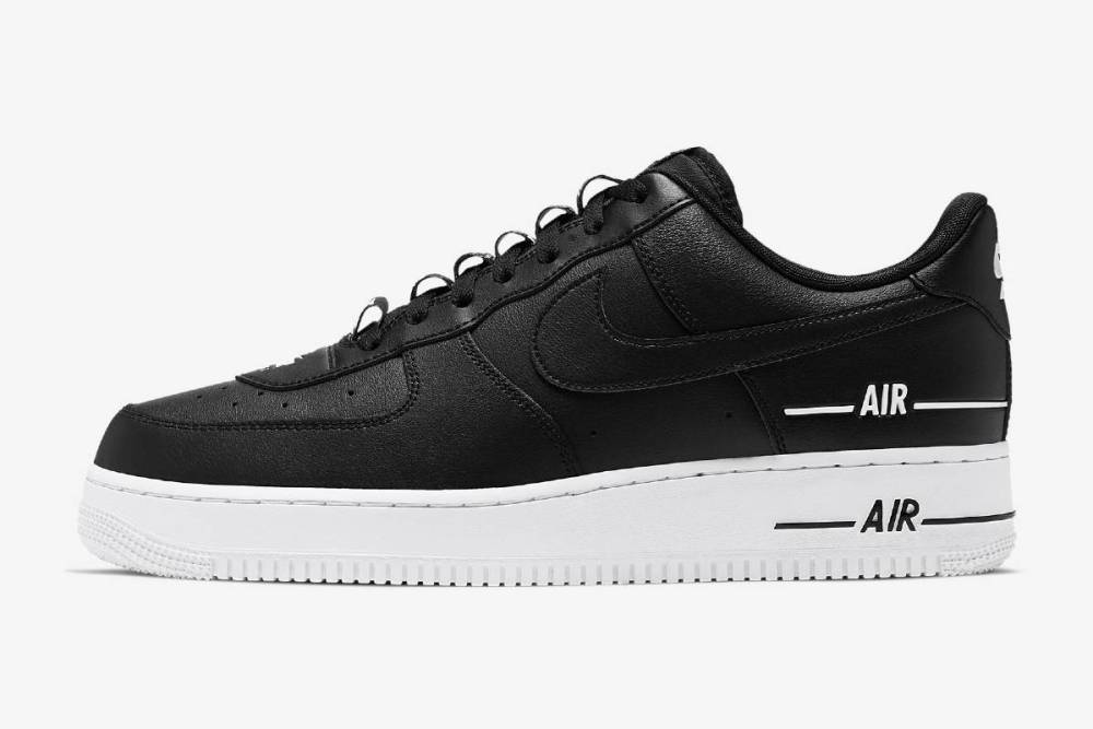 Nike air force 1 force 1 07 black white black