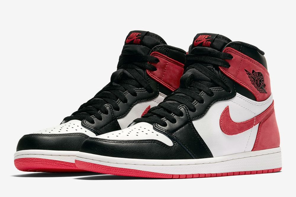 Air Jordan 1 Retro High OG Summit White/Track Red-Black