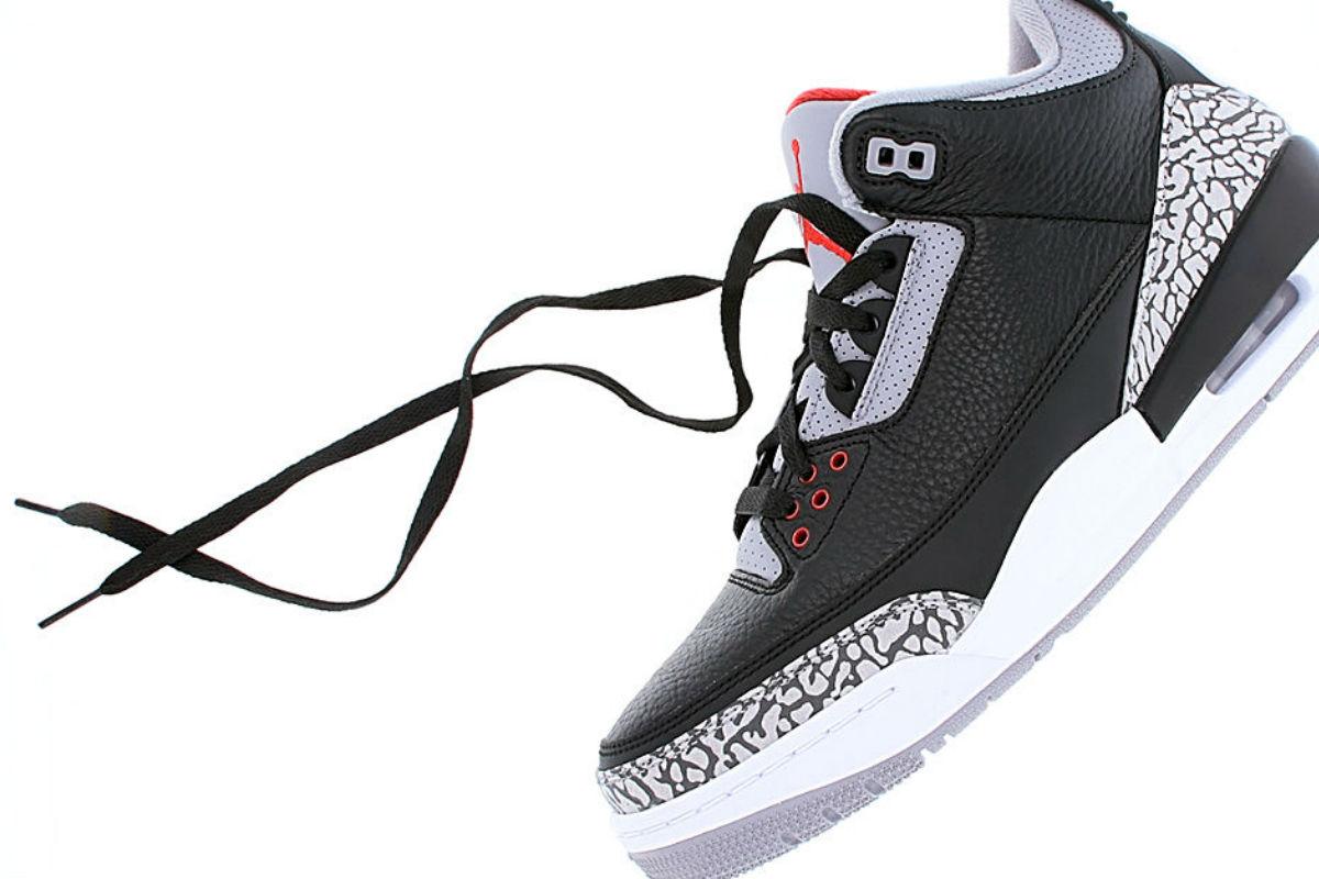 Air Jordan 3 Black Cement Restock Info