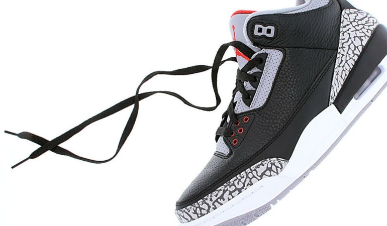 Air Jordan 3 Black Cement Surprise Restock