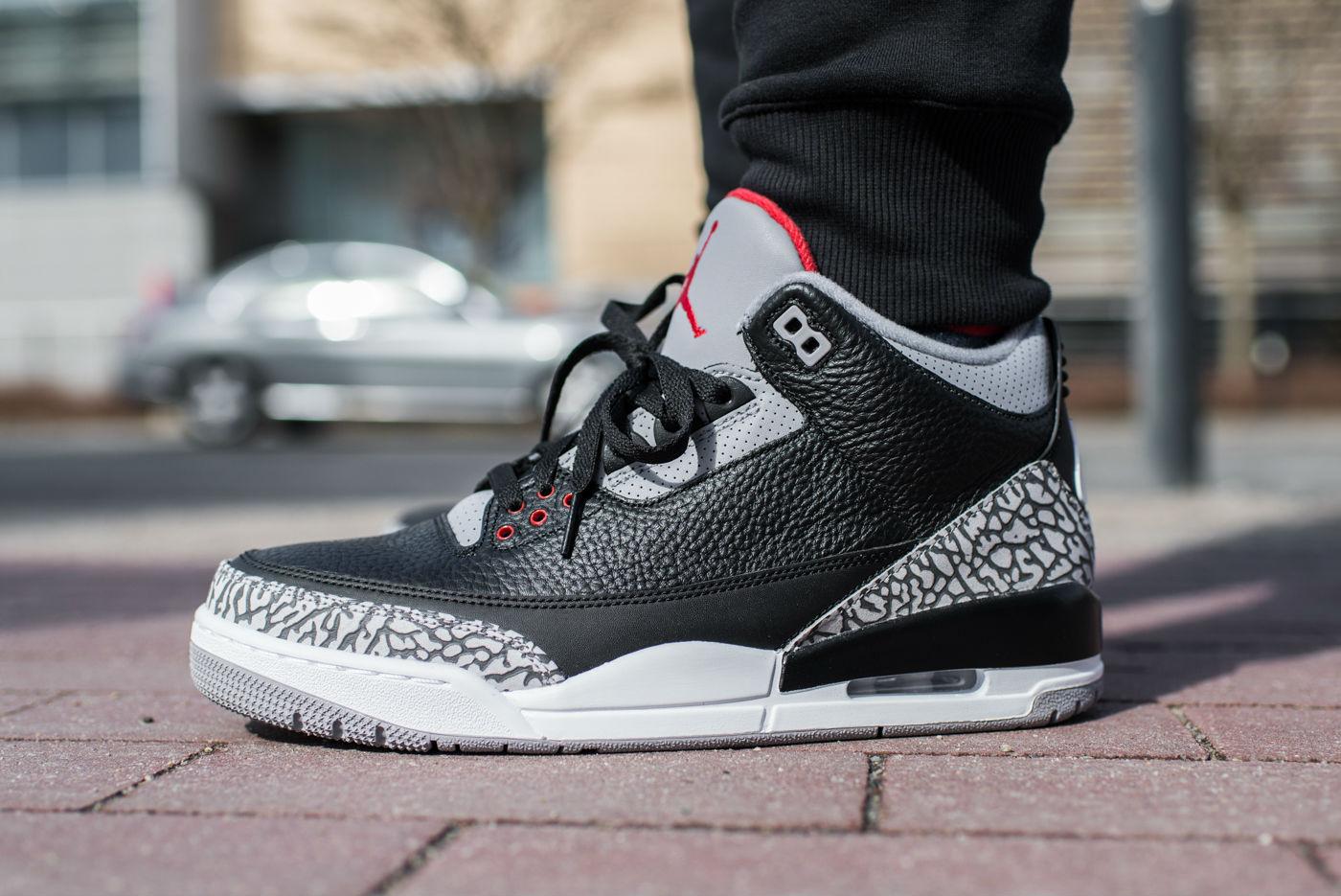 Air Jordan 3 Black Cement Restock Info   Cult Edge