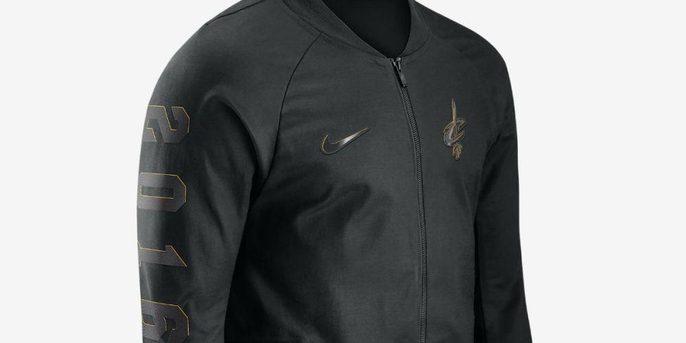 nike cleveland cavaliers varsity jacket