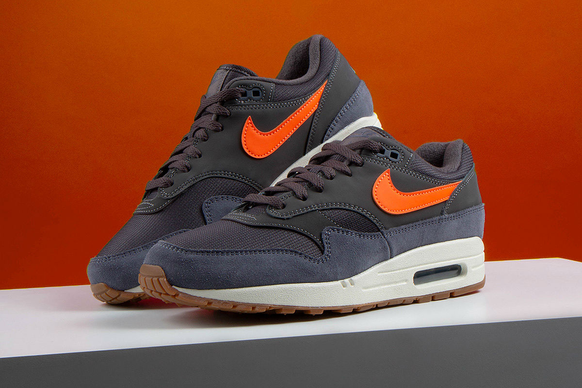 nike air max 1 grey thunder grey