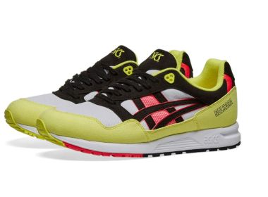 asics gel saga White/Black/Yellow,