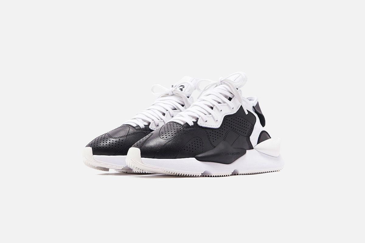 The adidas Y-3 Kaiwa Black White