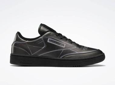 maison margiela x reebok club c black