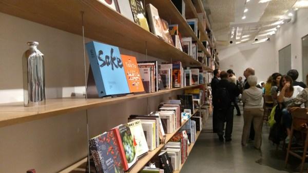 Japan House também tem livraria
