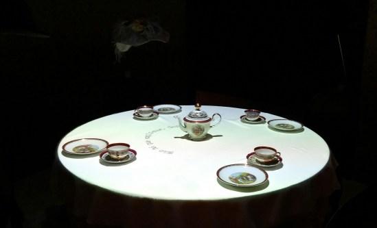 Exposição Consciência Cibernética tem obra sobre livro Dom Casmurro