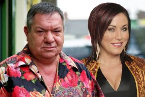 Michael Elphick and Jessie Wallace