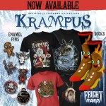 Survive the Holidays with KRAMPUS & CREEPSHOW Apparel