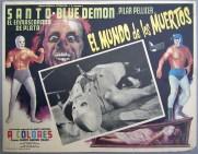 Santo y Blue Demon en el mundo de los muertos