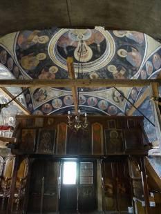 Peintures de l'église de Sibiel