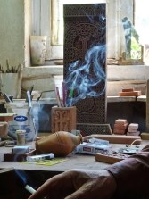 Atelier de sculpture de Khatchkar