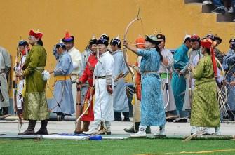 Archery at the Naadam - CC by SA - Scott Presly 2012