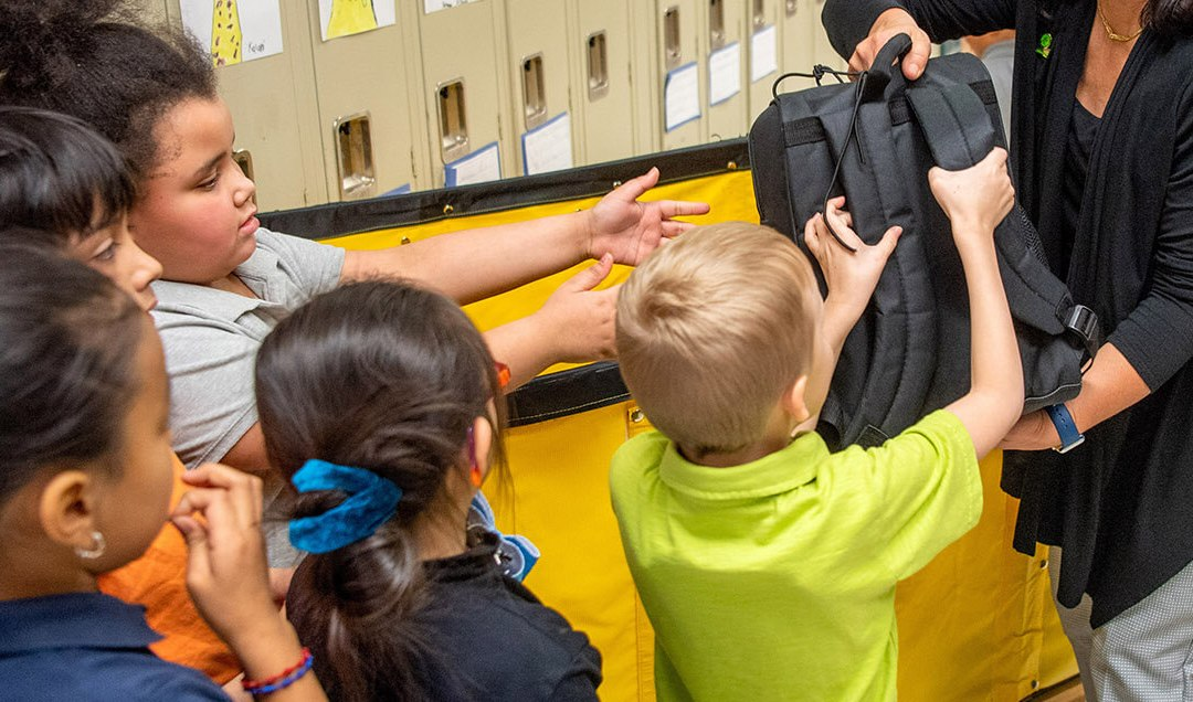 400 Backpacks Funded! Now on to a New Goal in 2020