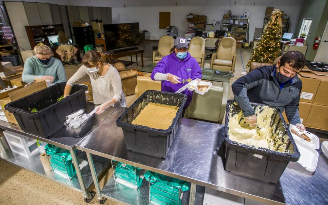 South Bend's Cultivate steps up to handle a boom in food donations during pandemic9