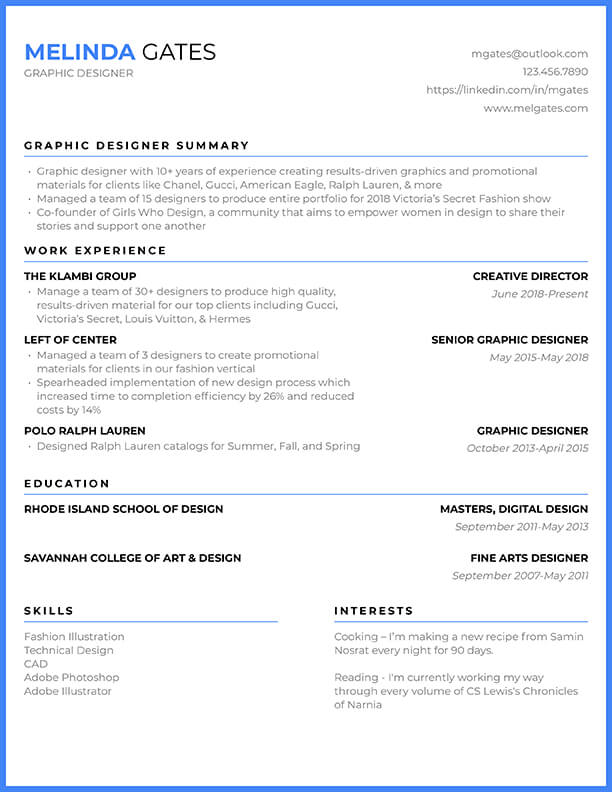 A resume is an extremely important and common document submitted by people when applying for a job. Free Resume Templates For 2021 Edit Download Resybuild Io