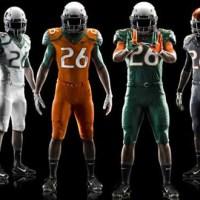 University of Miami Unveils New Football Uniforms