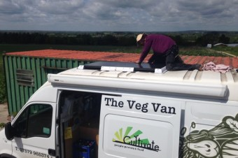 The Tale of the VegVan and its Solar Panels