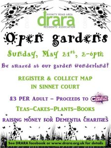 DRARA open gardens @ Divinity Road | England | United Kingdom
