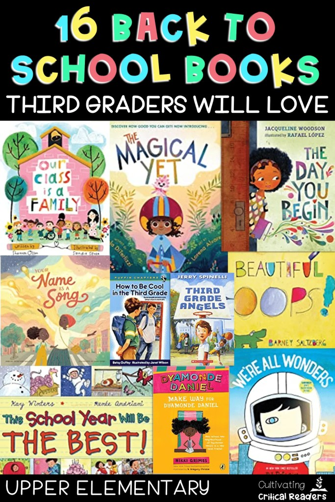 16 Back to School Books Third Graders Will Love Pin for Later