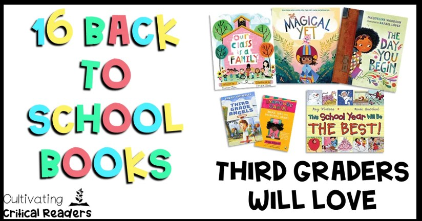16 Back to School Books Third Graders Will Love Title Image
