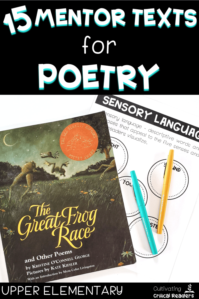 15-mentor-texts-for-poetry-upper-elementary-pin