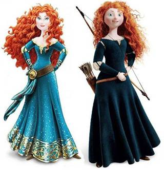 """Disney gave Merida a """"makeover"""" that she didn't need, unnecessarily sexualizing the character."""