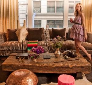 Lauren Santo Domingo in her NYC Loft.