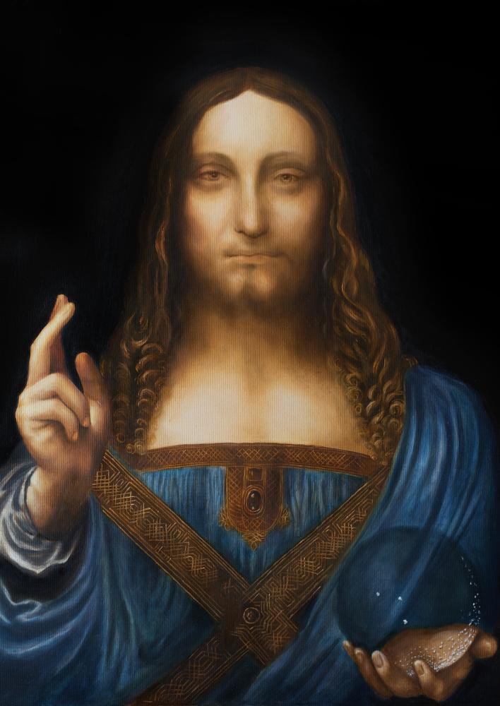 da Vinci's Salvator Mundi, Savior of the World