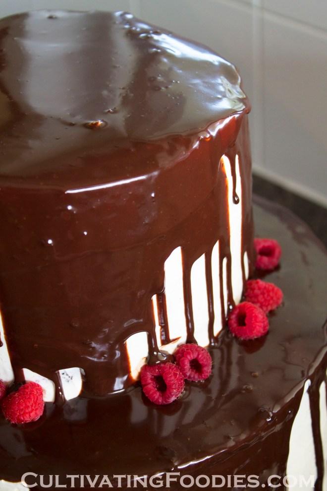 Wedding Cake raspberries
