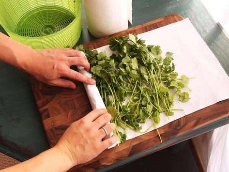 essuie tout - herbes aromatiques