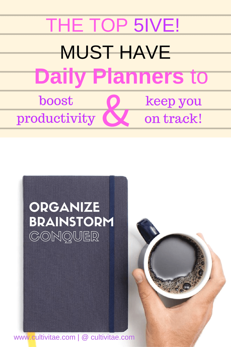 Daily Planners - Top 5 in 2017
