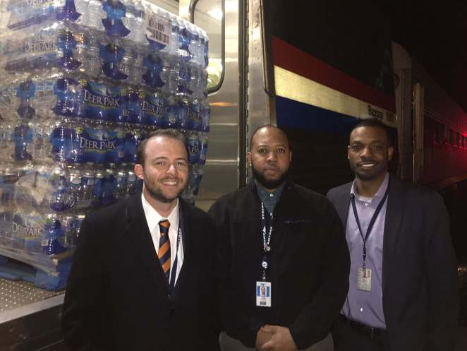 Charlie Monte Verde, Kyle Barnard, and Antawan Copeland, the proud papas of the initiative. Photo courtesy of K. Barnard