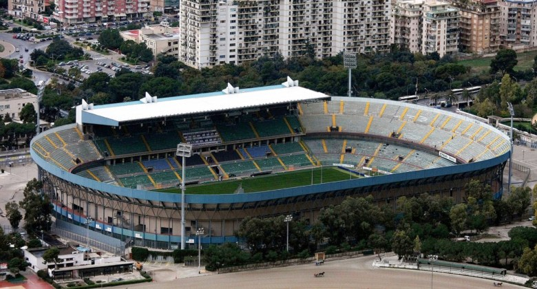 The Renzo Barbera Stadium in Palermo, beter known as La Favorita (Photo: www.thesportsdb.com)