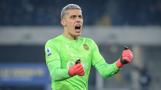 Hellas Verona goalkeeper Marco Silvestri is our man of the match for his vital saves against Juventus