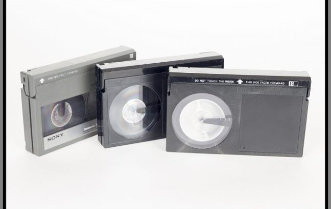 betamax-video-cassettes