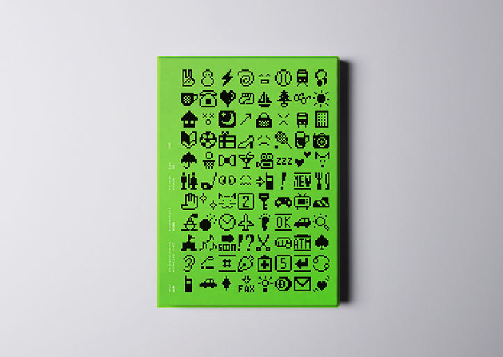 Standards Manual's new book dedicated to late 90s Japanese emojis