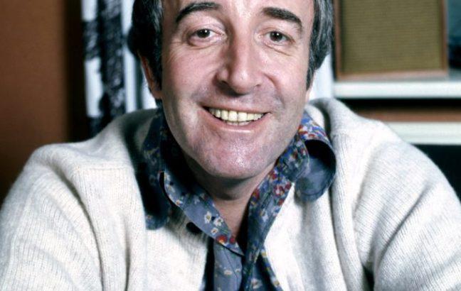 Peter Sellers at home in Belgravia, London, 1973