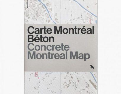 Concrete Montreal Map