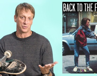 Tony Hawk Dissects Skateboarding Films For GQ Sports