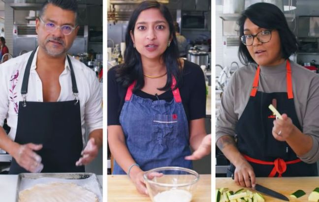 Rick, Priya, and Sohla, formerly of Bon Appetit