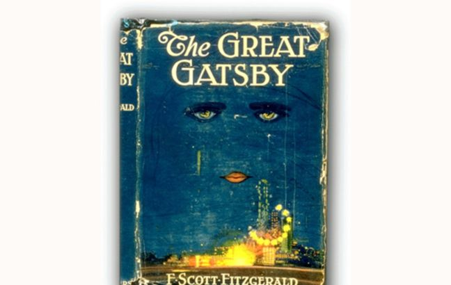 Cover art for The Great Gatsby