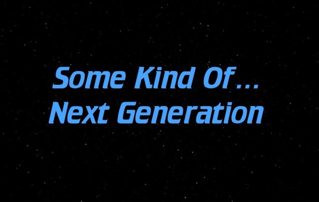 some kind of Star Trek: The Next Generation supercut