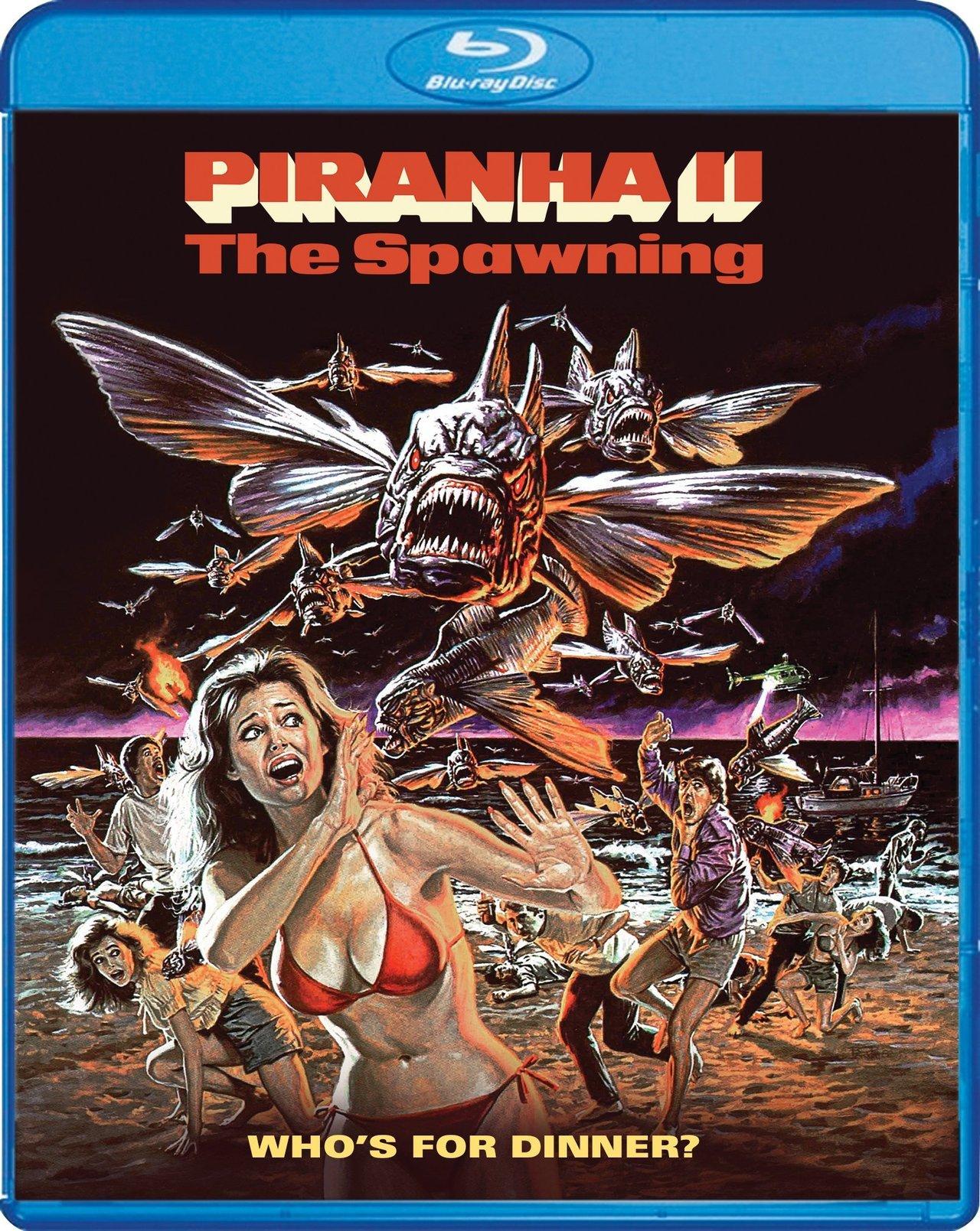 piranha II blu-ray