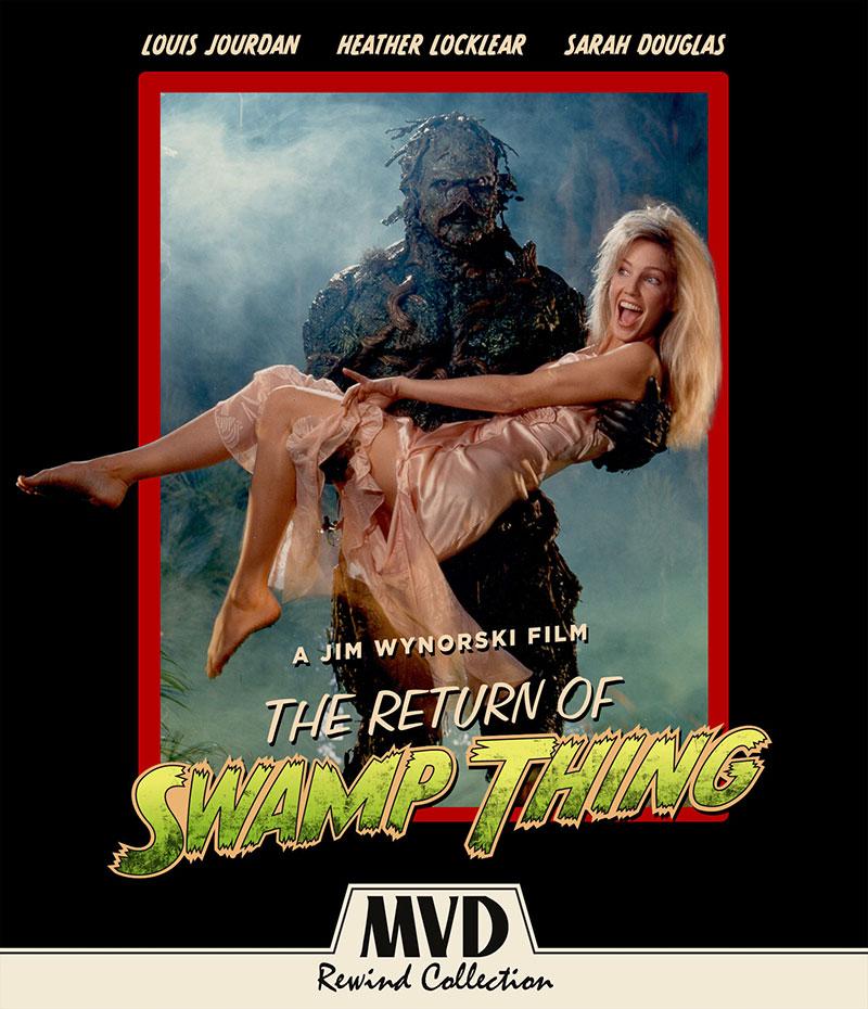 the return of swamp thing blu-ray